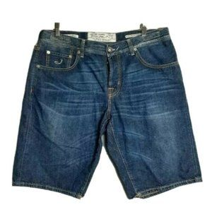 Jacob Cohen Jean Bermuda Handmade 100 % Cotton 37